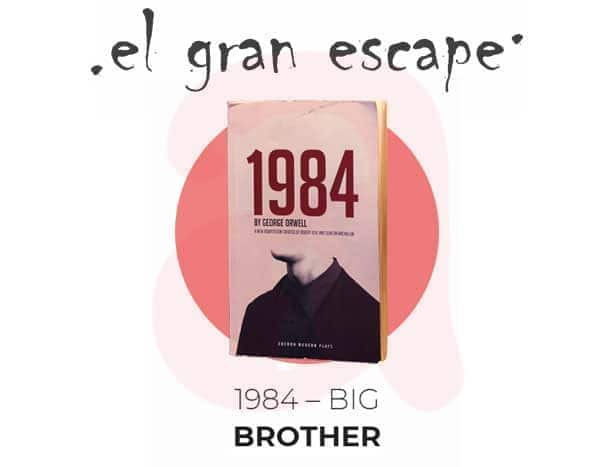 escape room: Big Brother 1984