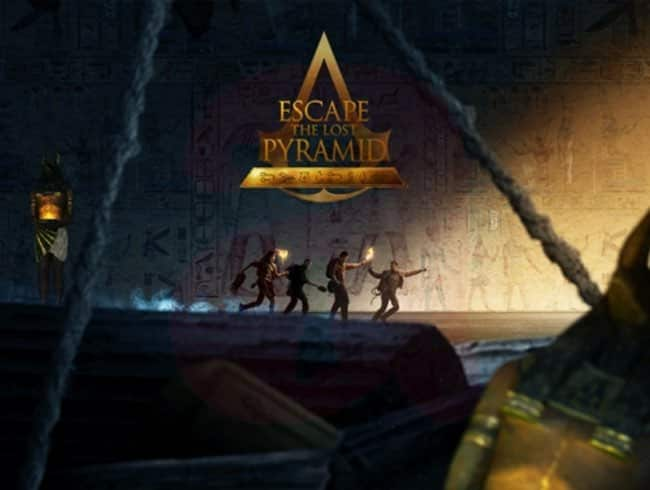 escape room: Escapa de la pirámide perdida