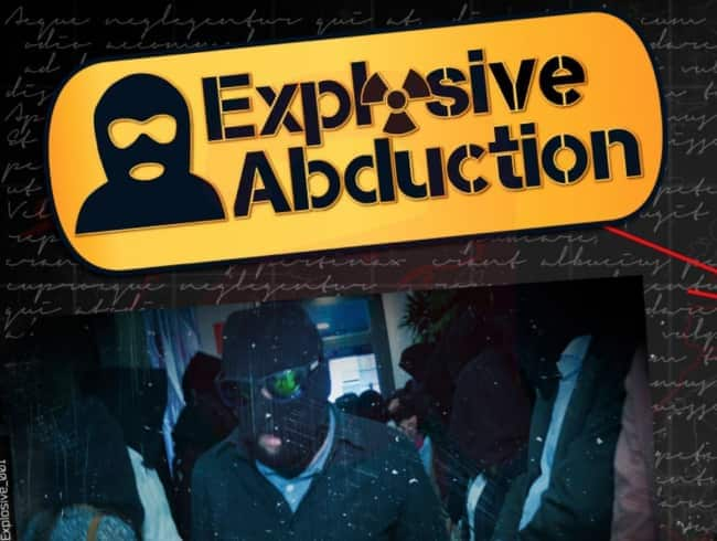 escape room: Explosive abduction - Valencia